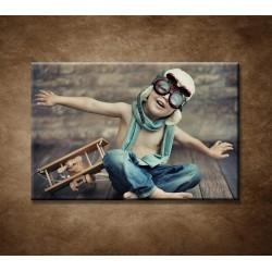 Obrazy na stenu - Malý chlapec