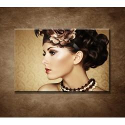 Obrazy na stenu - Retro žena
