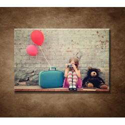 Obrazy na stenu - Dievčatko