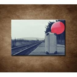 Obrazy na stenu - Starý kufor