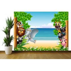 Fototapeta - Zvieratká na pláži