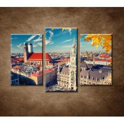 Obrazy na stenu - Mníchov - 3dielny 75x50cm
