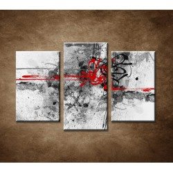 Obrazy na stenu - Abstraktný motív 26 - 3dielny 75x50cm