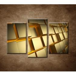 Obrazy na stenu - Abstraktný motív 21 - 3dielny 75x50cm
