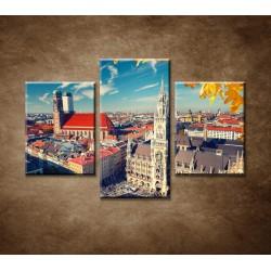 Obrazy na stenu - Mníchov - 3dielny 90x60cm