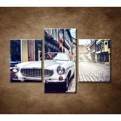 Obrazy na stenu - Retro auto - 3dielny 90x60cm