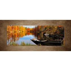 Obrazy na stenu - Švédske jesenné jazero
