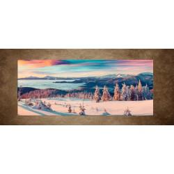 Obrazy na stenu - Zimné zasnežené hory