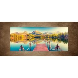 Jazero vo Výsokých Tatrách
