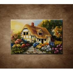 Obrazy na stenu - Vidiecka chalúpka