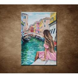 Obrazy na stenu - Dáma v Benátkách