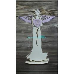 Drevený anjel - Žena