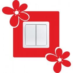Nálepka pod vypínač - Kvety