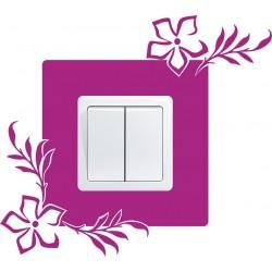Nálepka pod vypínač - Kvety 2