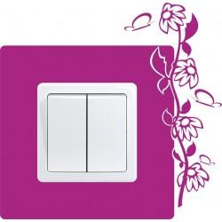 Nálepka pod vypínač - Kvety 6