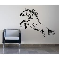 Nálepka na stenu - Skákajúci kôň