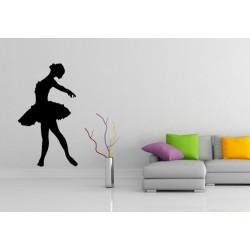 Nálepka na stenu - Baletka 2