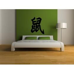 Nálepka na stenu - Čínske znamenie  ,,POTKAN,,