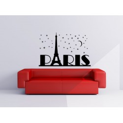 Nálepka na stenu - Paríž - Eifelovka