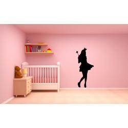 Nálepka na stenu - Princezná