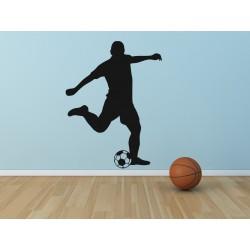Nálepka na stenu - Futbalista