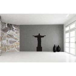 Nálepka na stenu - Socha Krista Spasiteľa