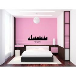 Nálepka na stenu - New York 2