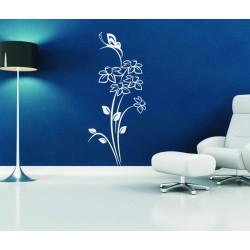 Nálepka na stenu - Narcis s motýľom