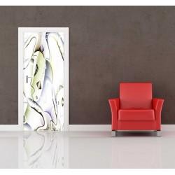 Nálepka na dvere - Abstrakcia