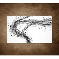 Obrazy na stenu - Abstraktné čiary